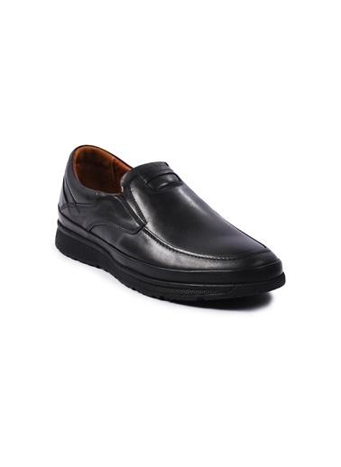 Ayakmod 2040 Deri Erkek Ayakkabı Siyah